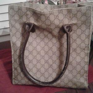 Vintage Authentic Gucci totes bag